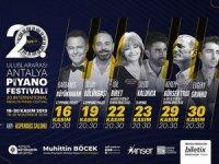 UluslararasıAntalya Piyano Festivali 16 Kasım'da başlıyor