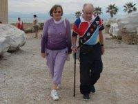 Kışın güneşi günleri yaşlı turistleri Antalya'ya çekiyor
