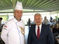 İBB Haliç Sosyal Tesisi genç aşçılarla eğitim kurumu gibi çalışıyor