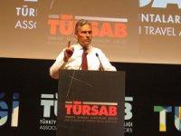 Firuz Bağlıkaya, TÜRSAB başkanlığına yeniden seçildi