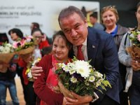 Başkan Böcek:Antalya'da engelleri birlikte birlikte aşacağız