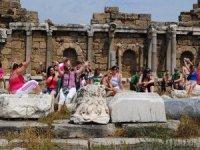 Belçika, Sagalasos Antik Kenti'ni Avrupa'ya tanıtıyor