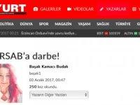Yurt Gazetesi: TÜRSAB'a darbe!