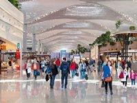 İstanbul Havalimanı'na Ortadoğuluların günlük alışveriş turu