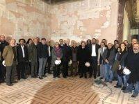 Sinema Müzesi'ni sektör temsilcileri gezdi