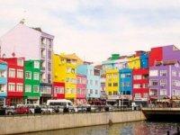 Silivri'deki binalar rengarenk boyandı!