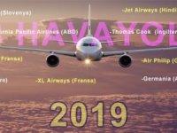 2019 yılında 18 Havayolu İflas Etti