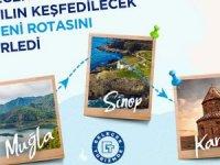 Kars, Sinop ve Muğla da 'gelecek turizmde' dedi
