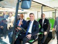Yüzde 100 ElektrikliTasarım Ödüllü T-Car ANFAŞ'ta