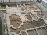 İzmir'de sular altında kalan arkeolojik alan müze oluyor