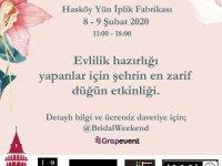 Düğün etkinliği Bridal Weekend İstanbul başlıyor