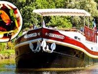 """Nehir gemisiyle Michelin yıldızlı restoranlara """"12 yıldızlı gezi"""""""