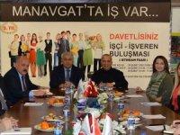 Manavgat'ta sezon öncesi işçi ve işveren buluşması başladı