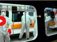 Metrolarda 'virüs' önlemi! 500 kişilik ekip çalışıyor…