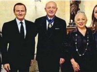 Ferit Şahenk'e İspanya'dan Şeref Madalyası