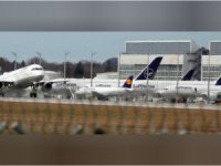 Koronavirüs krizi; Lufthansa firması 150 uçağını yere indirdi