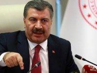 Sağlık Bakanı:Türkiye'de Corona virüsü vaka sayısı yükseldi