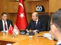 Başbakan Ersin Tatar ile koronavirüs toplantısı