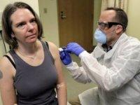 İlk koronavirüs aşısı yapılan kadın: Kendimle gurur duyuyorum