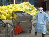 Coronavirus Çin'i tıbbi atık dağlarıyla terk ediyor