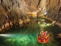 Korona virüsü Altınbeşik Mağarası'na ziyareti bitirdi