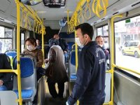 Antalya'da toplu taşımada mesafe denetimi yapıldı