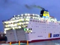 Anek Lines gemisi Pire'de virüs şüphesiyle bekletiliyor