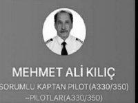 THY kaptan pilotu koronadan hayatını kaybetti!