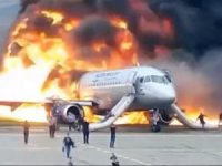 Korkunç uçak kazasının görüntüleri ortaya çıktı