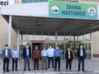 Adana Belediyesi'nin kurduğu sahra hastanesi mühürlendi