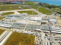 Atatürk Havalimanı ve Sancaktepe'de hastanelerde çatı göründü