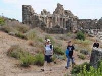 2020 kültür turlarına Selge ve Seleukeia Antik Kent'te dahil oldu