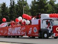 Antalya Kepez'de Vosvos turu coşkusu