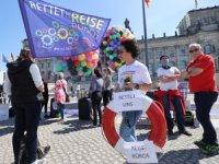 Almanya'da Acentelerin 4. Eylemi Parlamentonun Önünde