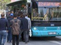 Toplu taşımada yüzde 50 sınırı kalktı