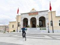 Dünya Bisiklet Günü'nde 23 kilometre pedal çevirdi