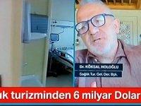 Dr.Holoğlu: Türkiye sağlık turizmi artırma fırsatını kaçırmamalı