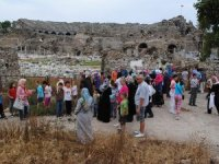Side'de Roma dönemi Hamamlar bölgesi Unesco listesine alınacak