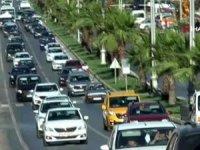 700 bin tatilci akın akın geliyor! Bodrum'un nüfusu 4'e katlandı