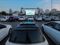 CarrefourSA arabalı açık hava sineması