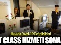 Havayolu şirketleri First Class'ı kaldırdı