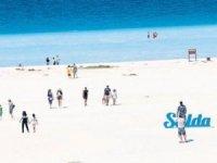 Salda Gölüve morturizm denilenlavanta tarlaları marka oluyor