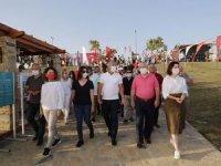 Manavgat'ta Kızılot Plajı hizmete açıldı