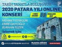 Tarihi Patara Meclisi'nde online konser verilecek
