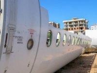Hasarlı yolcu uçağı satışa çıktı