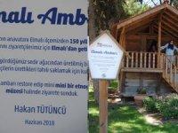 Elmalı'nın asırlık tahıl ambarı Dokuma Park'ta sergileniyor
