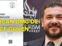 Mercan Turizm Güvenli Turizm Sertifikasını alan ilk DMC oldu