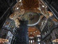Ayasofya'daki fresklerin korunacağı sistem çok orijinal