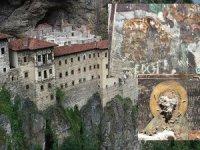 Sümela Manastırı'nda tahribat: Fresklerin suratları parçalanmış!