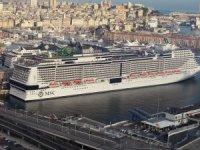 MSC Grandiosa, ilk yolculuk için Cenova'dan ayrıldı